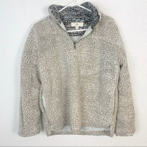 Thread and Supply 1/4 Zip Pullover Small